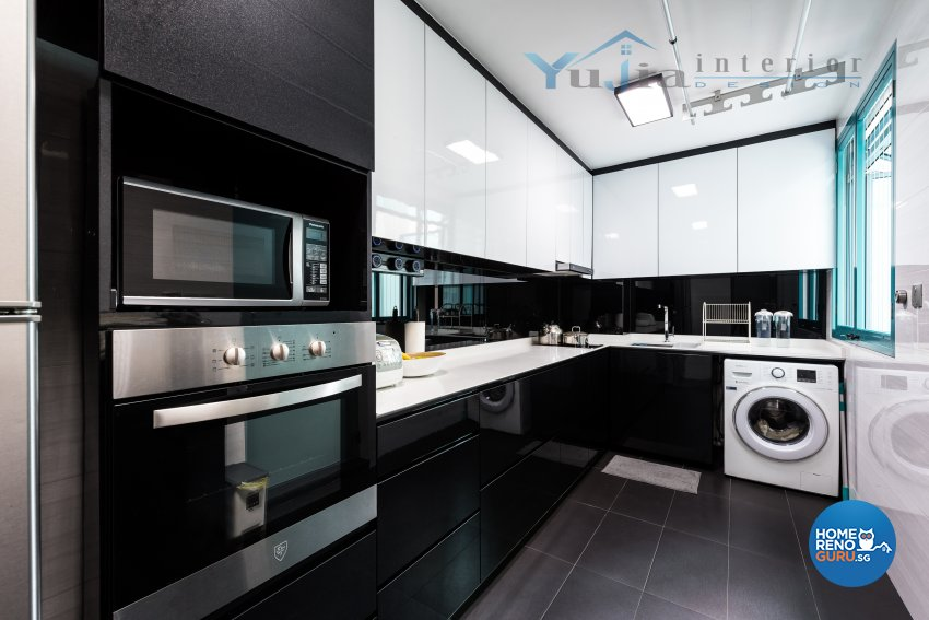 Contemporary Design - Kitchen - HDB 5 Room - Design by Yujia Interior Design Pte Ltd