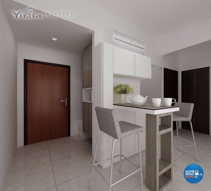 Condo Interior Design Condominium Interior Design Singapore: Yujia Interior Design Pte Ltd Global Ville Condo 3909