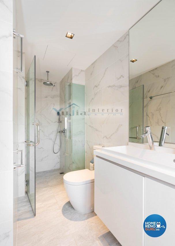 Contemporary Design - Bathroom - Landed House - Design by Yujia Interior Design Pte Ltd