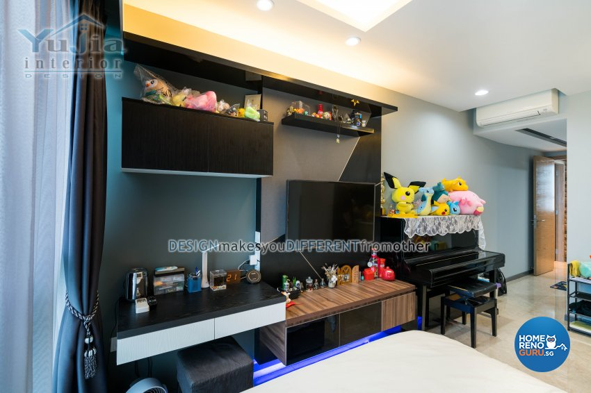 Classical Design - Living Room - Condominium - Design by Yujia Interior Design Pte Ltd