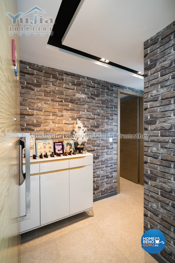 Classical Design - Balcony - Condominium - Design by Yujia Interior Design Pte Ltd