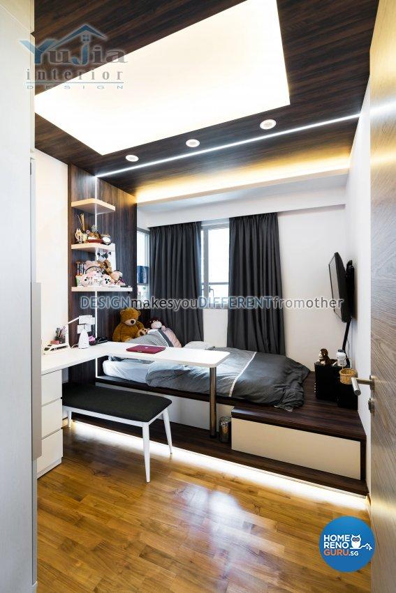 Classical Design - Bedroom - Condominium - Design by Yujia Interior Design Pte Ltd