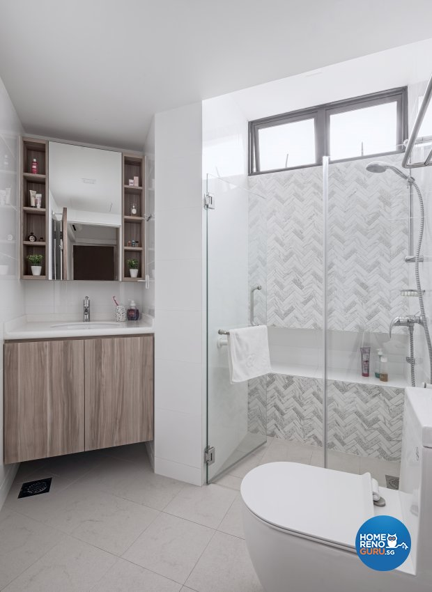 Minimalist, Modern, Scandinavian Design - Bathroom - Condominium - Design by Zenith Arc Pte Ltd