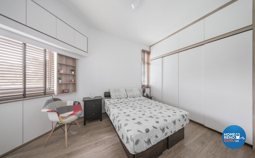 Minimalist, Modern, Scandinavian Design - Bedroom - Condominium - Design by Zenith Arc Pte Ltd