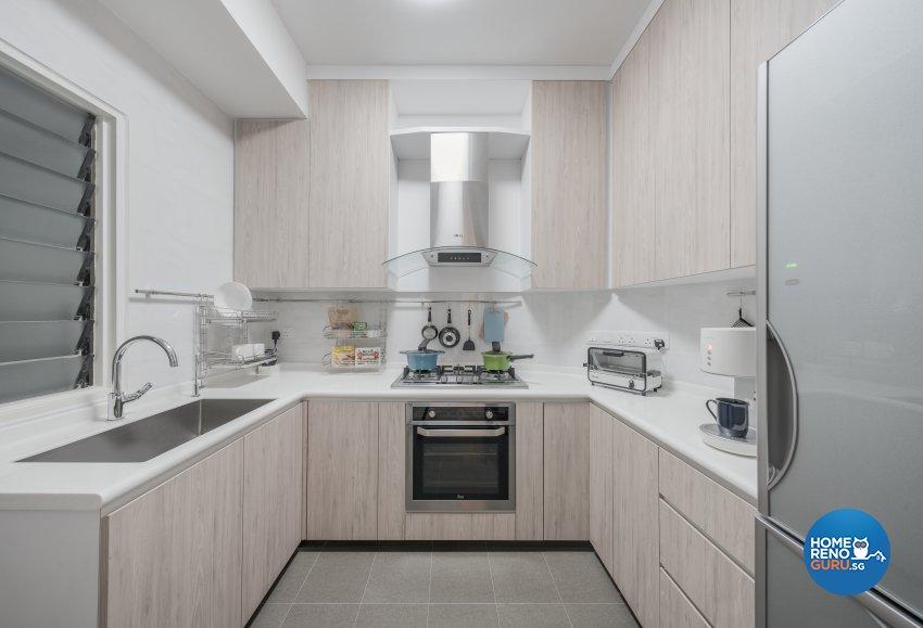 Minimalist, Modern, Scandinavian Design - Kitchen - Condominium - Design by Zenith Arc Pte Ltd