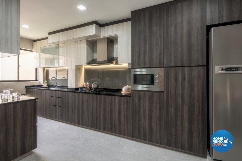 Modern, Others Design - Kitchen - HDB 3 Room - Design by Zenith Arc Pte Ltd