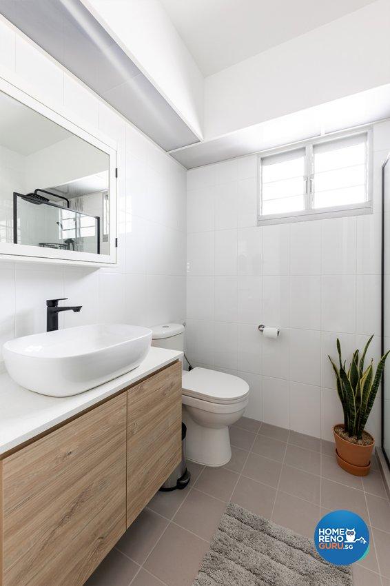 Contemporary, Scandinavian Design - Bathroom - HDB 3 Room - Design by Zenith Arc Pte Ltd
