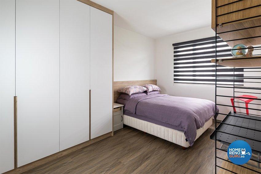 Contemporary, Scandinavian Design - Bedroom - HDB 3 Room - Design by Zenith Arc Pte Ltd