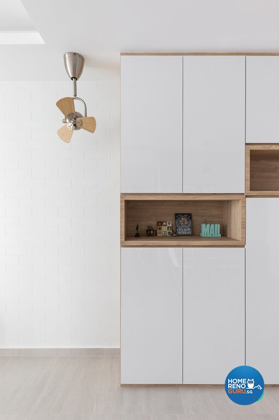 Contemporary, Scandinavian Design - Living Room - HDB 3 Room - Design by Zenith Arc Pte Ltd