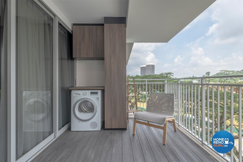Contemporary, Modern, Others Design - Balcony - HDB 3 Room - Design by Zenith Arc Pte Ltd