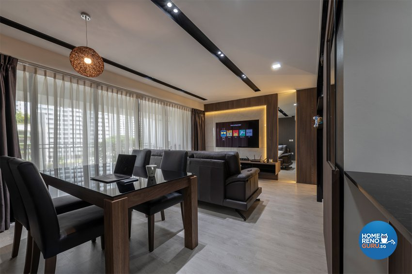 Contemporary, Modern, Others Design - Dining Room - HDB 3 Room - Design by Zenith Arc Pte Ltd