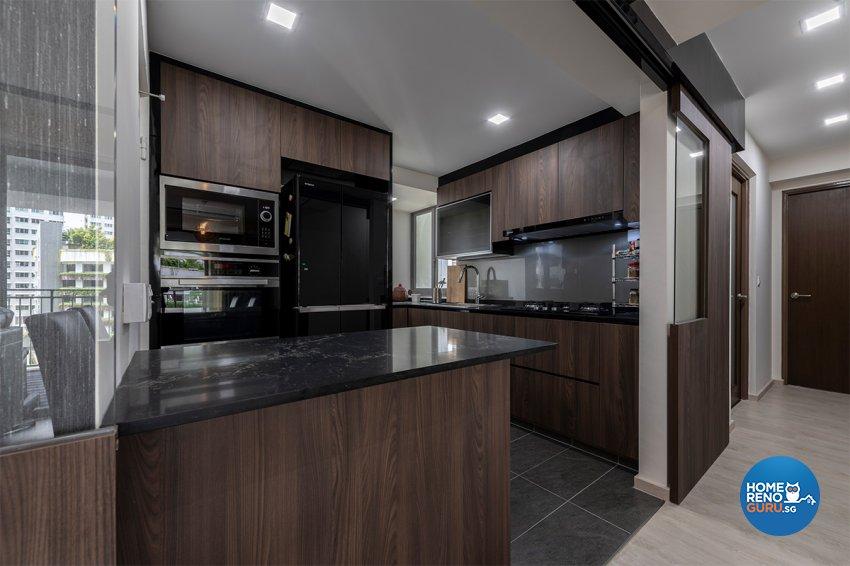 Contemporary, Modern, Others Design - Kitchen - HDB 3 Room - Design by Zenith Arc Pte Ltd