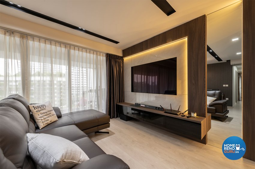 Contemporary, Modern, Others Design - Living Room - HDB 3 Room - Design by Zenith Arc Pte Ltd