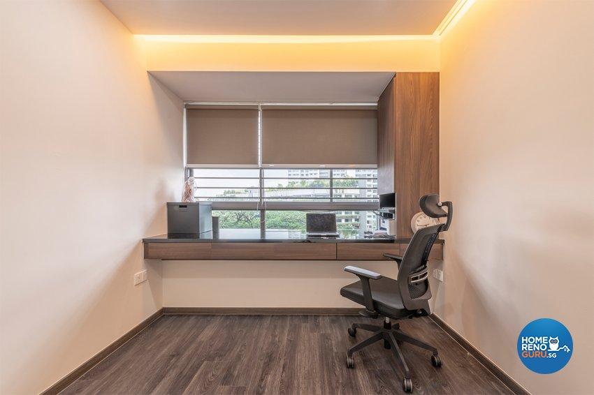 Contemporary, Modern, Others Design - Study Room - HDB 3 Room - Design by Zenith Arc Pte Ltd