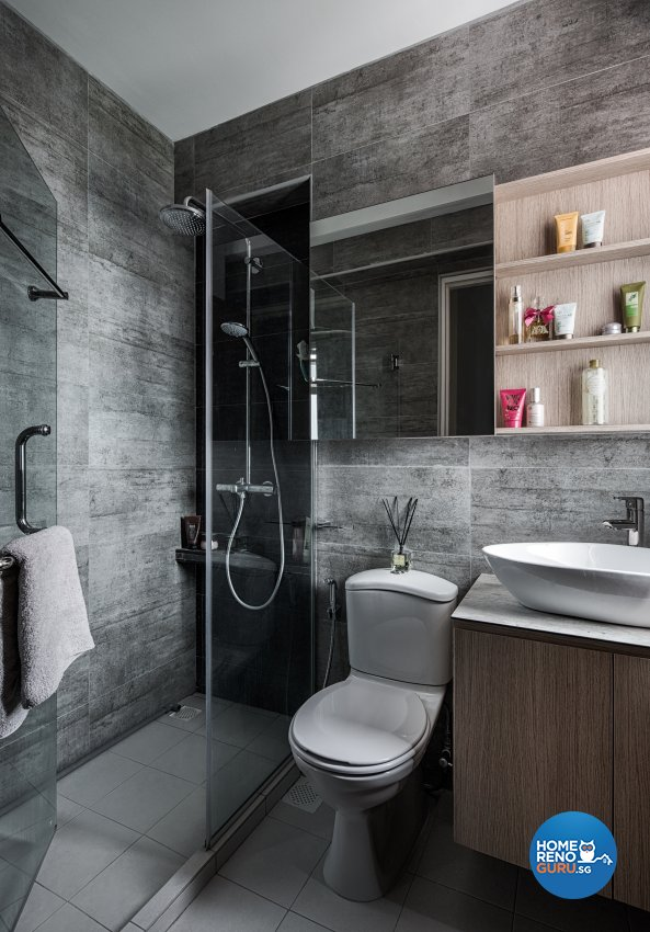 Industrial, Others, Scandinavian Design - Bathroom - HDB 4 Room - Design by Zenith Arc Pte Ltd