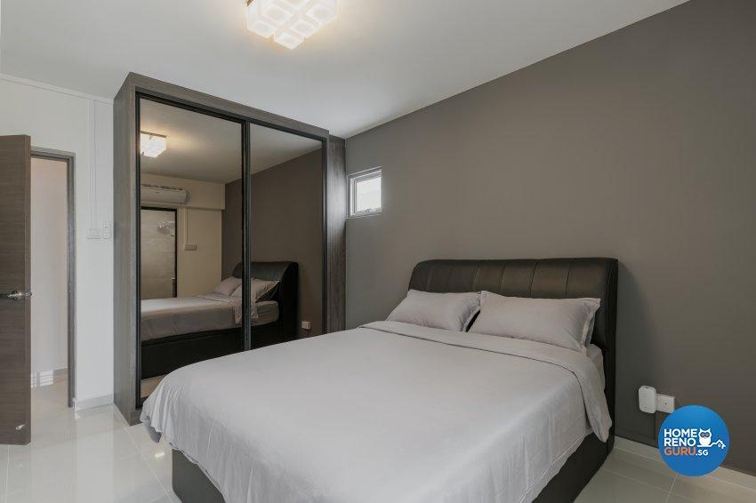 Contemporary, Minimalist, Modern Design - Bedroom - HDB 4 Room - Design by Zenith Arc Pte Ltd