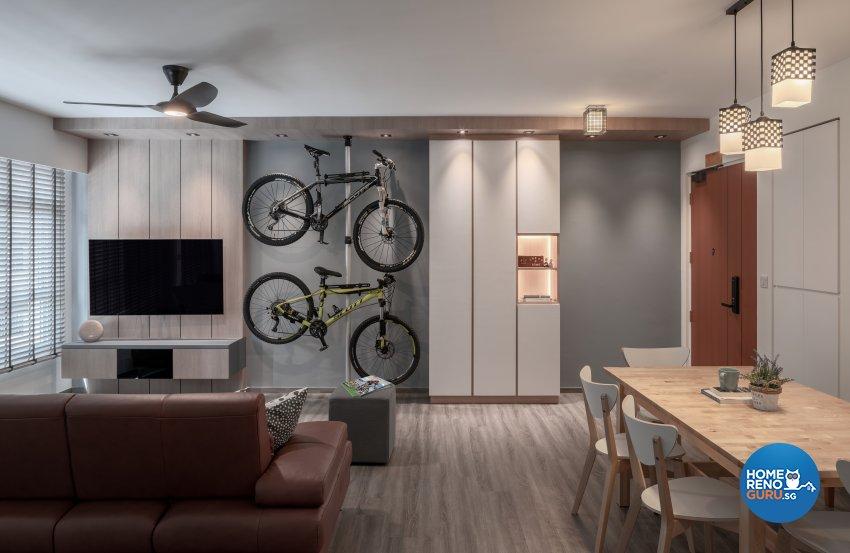 Modern, Others, Scandinavian Design - Living Room - HDB 5 Room - Design by Zenith Arc Pte Ltd