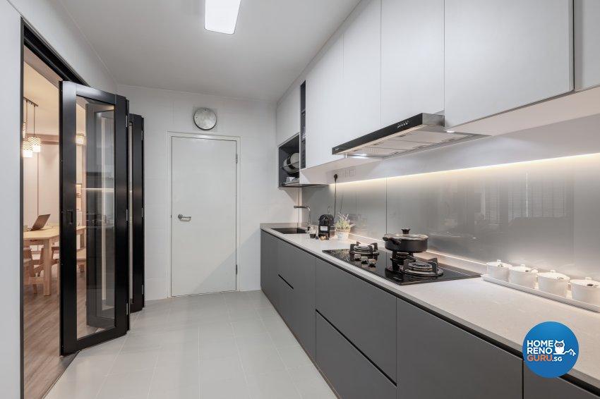 Modern, Others, Scandinavian Design - Kitchen - HDB 5 Room - Design by Zenith Arc Pte Ltd