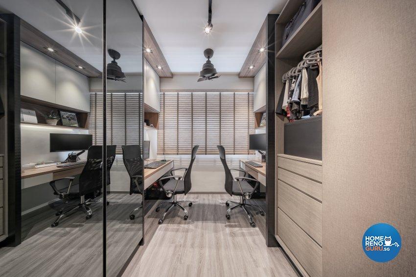 Modern, Others, Scandinavian Design - Study Room - HDB 5 Room - Design by Zenith Arc Pte Ltd