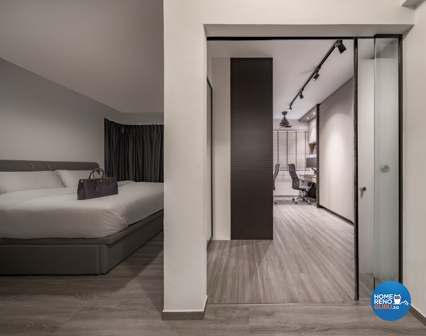Modern, Others, Scandinavian Design - Bedroom - HDB 5 Room - Design by Zenith Arc Pte Ltd