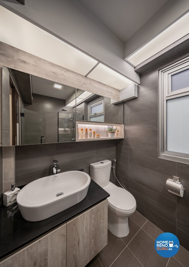 Modern, Others, Scandinavian Design - Bathroom - HDB 5 Room - Design by Zenith Arc Pte Ltd