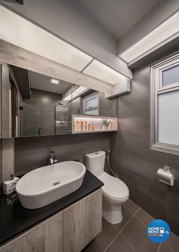 Modern, Others, Scandinavian Design - Bathroom - HDB 5 Room - Design by Zenith Arc Pte Ltd