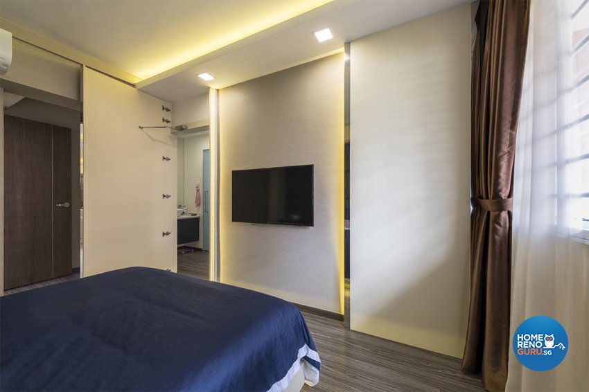 Modern, Others Design - Bedroom - HDB 5 Room - Design by Zenith Arc Pte Ltd