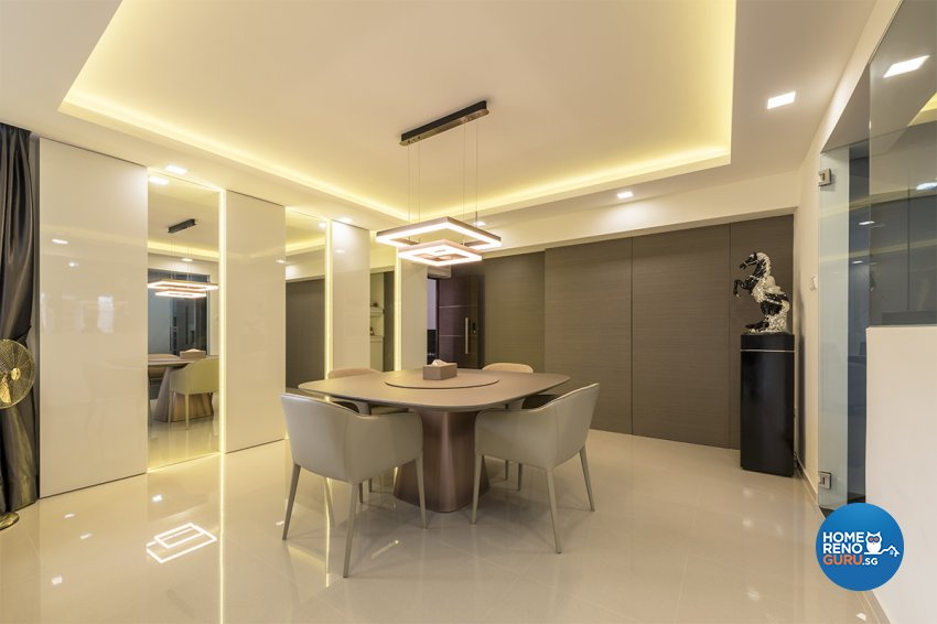 Modern, Others Design - Living Room - HDB 5 Room - Design by Zenith Arc Pte Ltd