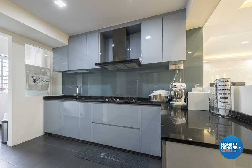 Modern, Others Design - Kitchen - HDB 5 Room - Design by Zenith Arc Pte Ltd