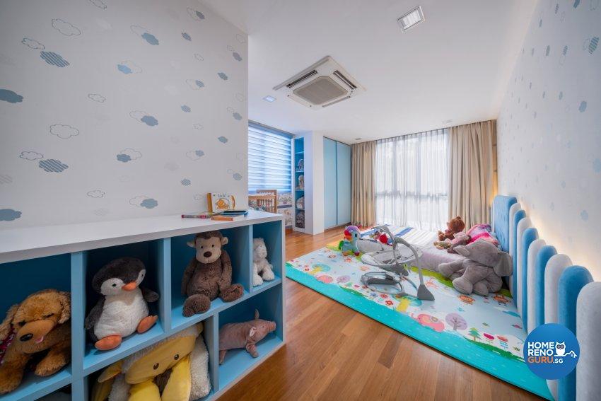 Contemporary, Minimalist, Modern Design - Bedroom - Landed House - Design by Zenith Arc Pte Ltd